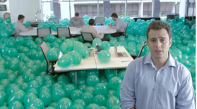 1 like = 1 balão e 10 ideias inovadoras