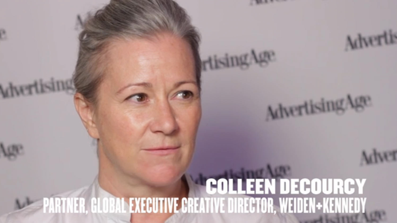 AdAge: Colleen DeCourcy, ECD Global da W+K, fala sobre ser uma agência independente