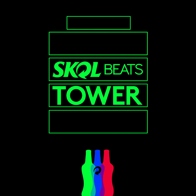 Skol Beats presents the SKOL BEATS TOWER festival, which invites everyone to discover many different nights out inside the same party