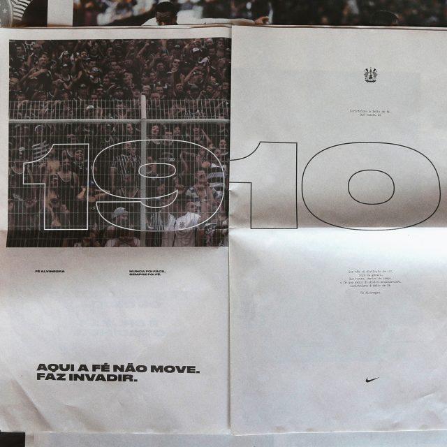 Nike e W+K São Paulo celebram o hepta do Corinthians