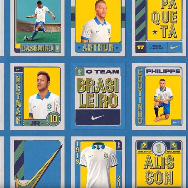 "Nike – ""O Team Brasileiro"" – Copa América"